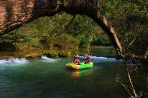 Duoyi River in Luoping County, Qujing