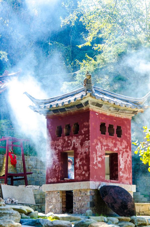 Fuguo Temple in Yangbi County, Dali