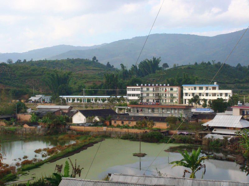 Gelanghe Hani Ethnic Township of Menghai County in XishuangBanna