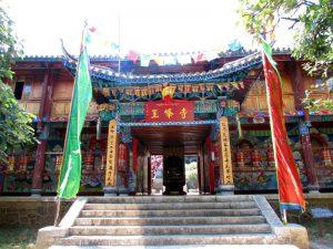 Giant Camellia Tree in Yufeng Monastery, Lijiang
