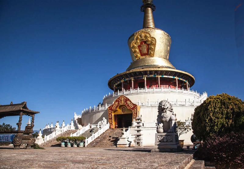 Golden Pagoda Scenic Area in Lijiang
