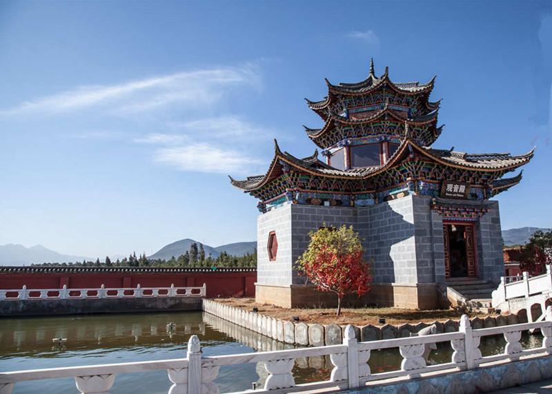 Golden Pagoda Scenic Area in Lijiang-02