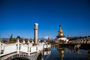 Golden Pagoda Scenic Area in Lijiang