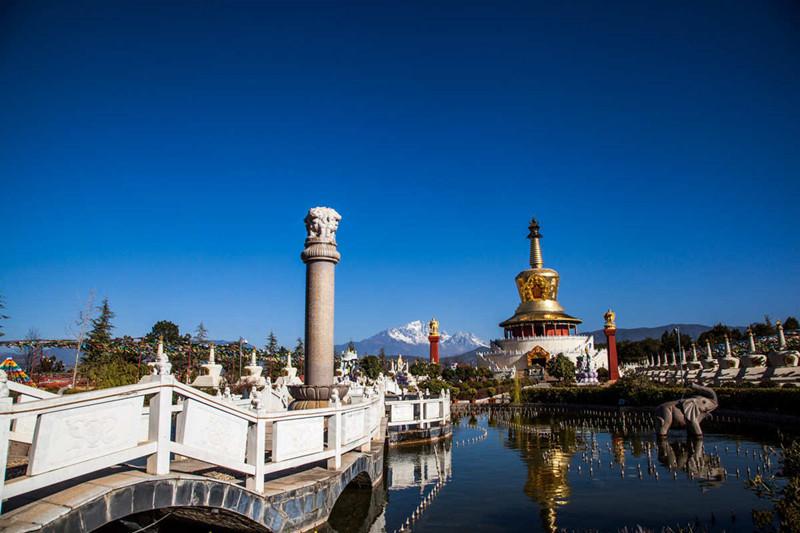 Golden Pagoda Scenic Area in Lijiang-04