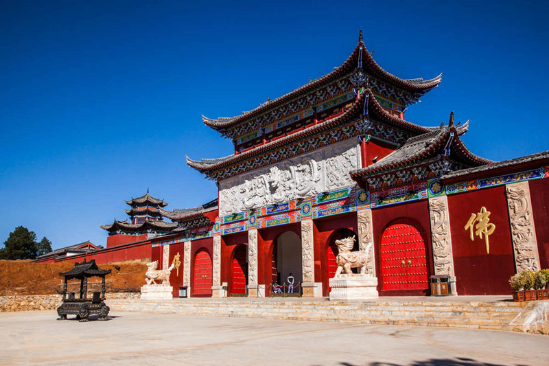 Golden Pagoda Scenic Area in Lijiang-05