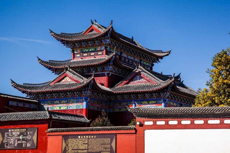 Golden Pagoda Scenic Area in Lijiang-06