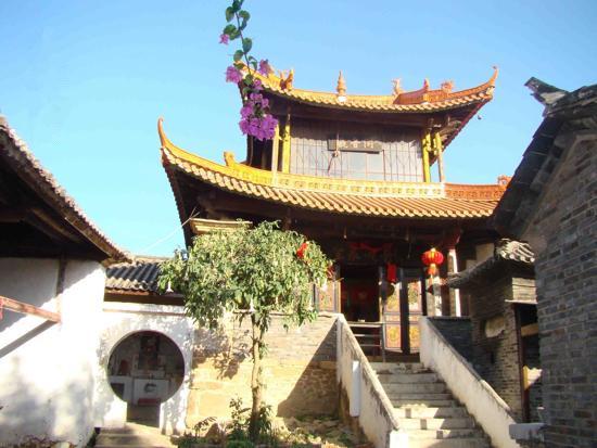 Guanyin Temple in Binchuan County, Dali