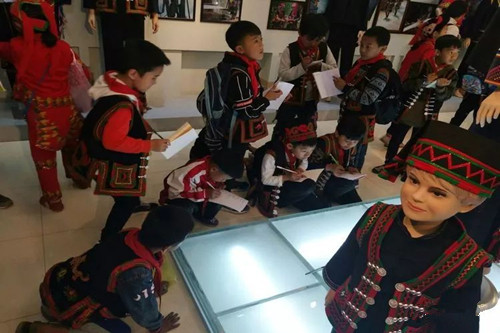 Hani Ethnic Minority Museum in Luchun County, Honghe