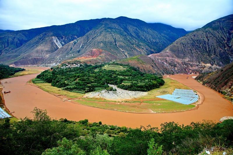 Honghe River Valley in Yunnan