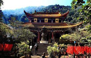 Huating Temple in Kunming