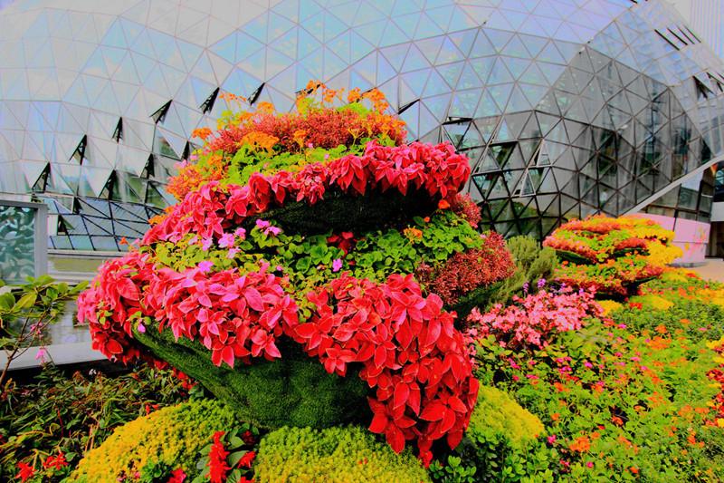 Huazhicheng Flower City in Kunming-08