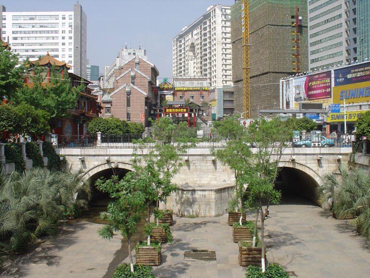 Huguo Bridge in Kunming