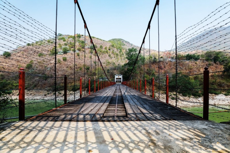 Huitong Bridge in Longling County, Baoshan