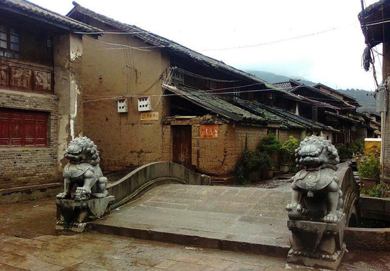 Jinhua Old Town in Jianchuan County, Dali