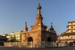 Jingang Pagoda in Guandu Old Town, Kunming