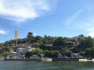 Jinsuo Islet of Erhai Lake in Dali City