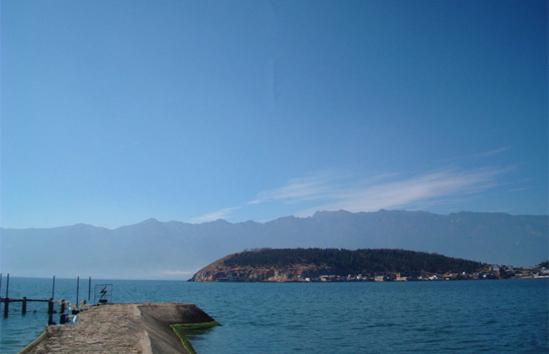 Jinsuo Islet of Erhai Lake in Dali City-03