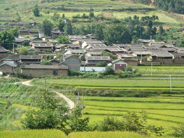 Judian Town in Yulong County, Lijiang