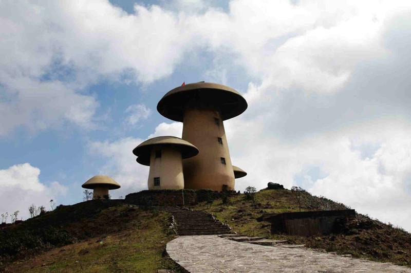 Junzi Mountain in Shizong County, Qujing
