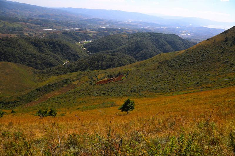 Laoyeshan Mountain in Yiliang County, Kunming