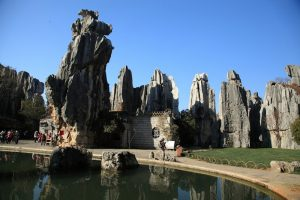 Large Stone Forest in Shilin County, Kunming