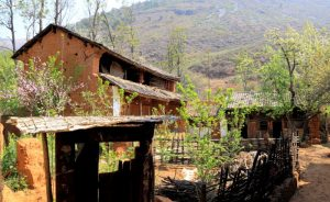 Liyuan (Pear Blossom) Village in Eryuan County, Dali