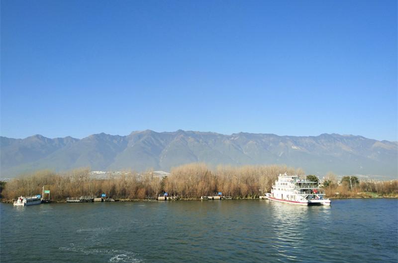 Longkan Wharf of Erhai Lake in Dali City-02