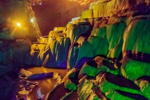 Magical Stone Terraced Fields of Jiuxiang Caves in Kunming
