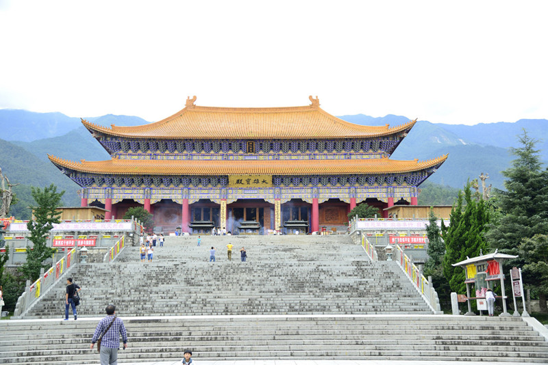 Mahavira Hall of Chongsheng Monastery in Dali City
