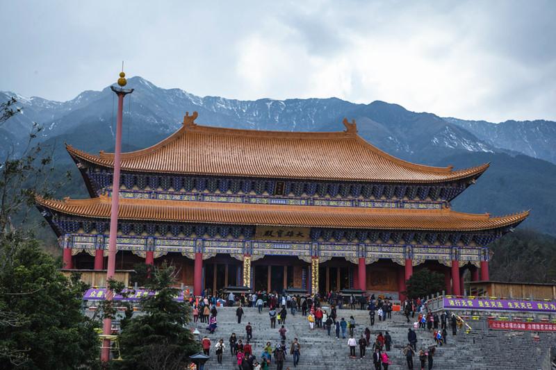 Mahavira Hall of Chongsheng Monastery in Dali City-02