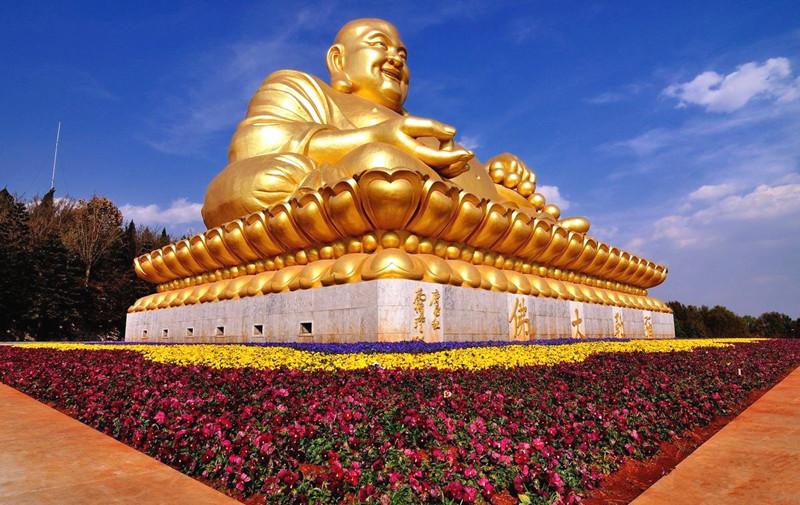 Maitreya Buddha in Mile City, Honghe