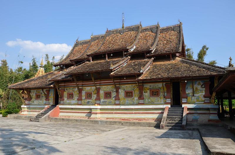 Manduan Temple in Menghai County, XishuangBanna