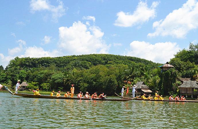 Manmai Sangkang Scenic Area in Jinghong City, XishuangBanna