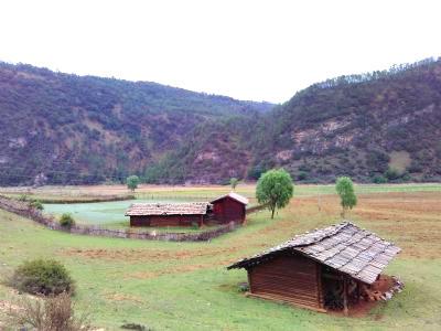 Mudiqing Village in Ninglang County, Lijiang