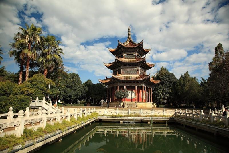Nanhu Lake Park in Mengzi City, Honghe-06