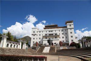 Nanzhao Palace of Erhai Lake in Dali City