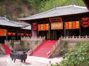 Nanzhao Tuzhu Temple of Weibao Mountain in Weishan County, Dali