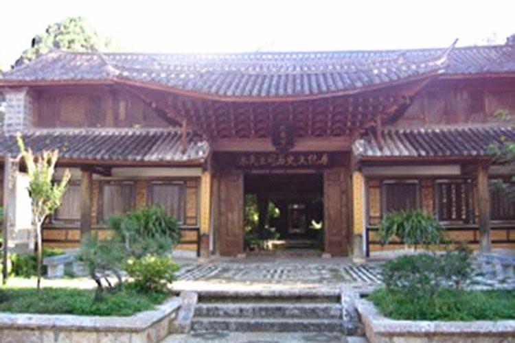 Pengjin Wenchang Palace in Mile City, Honghe