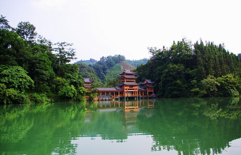 Phoenix Valley Scenic Area in Shizong County, Qujing