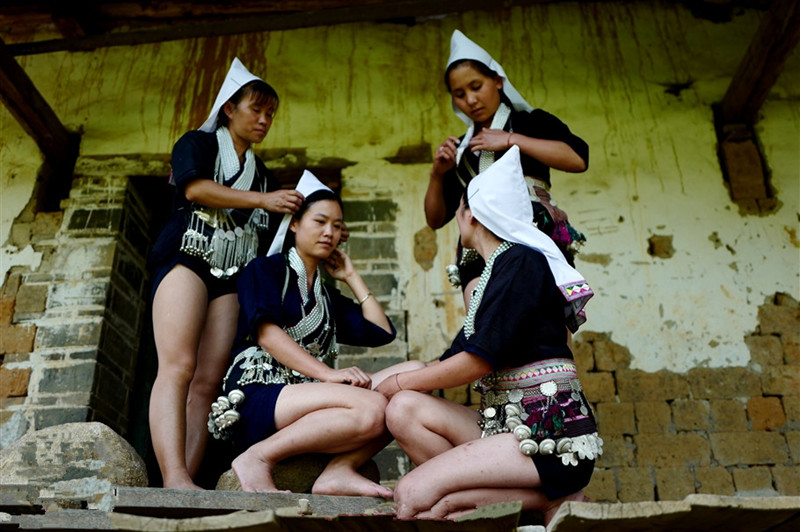 Puma Village of Yiche Ethnic People in Honghe County, Honghe