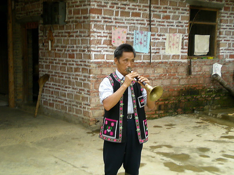 Qiaotou Miao Ethnic Town of Hekou County in Honghe Prefecture