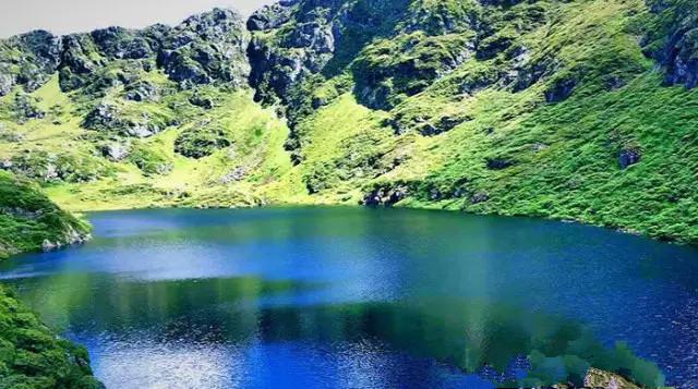 Qilian Lake in Fugong County, Nujiang