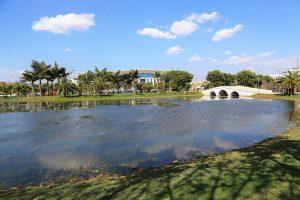 Qinglai Park in Mile County, Honghe