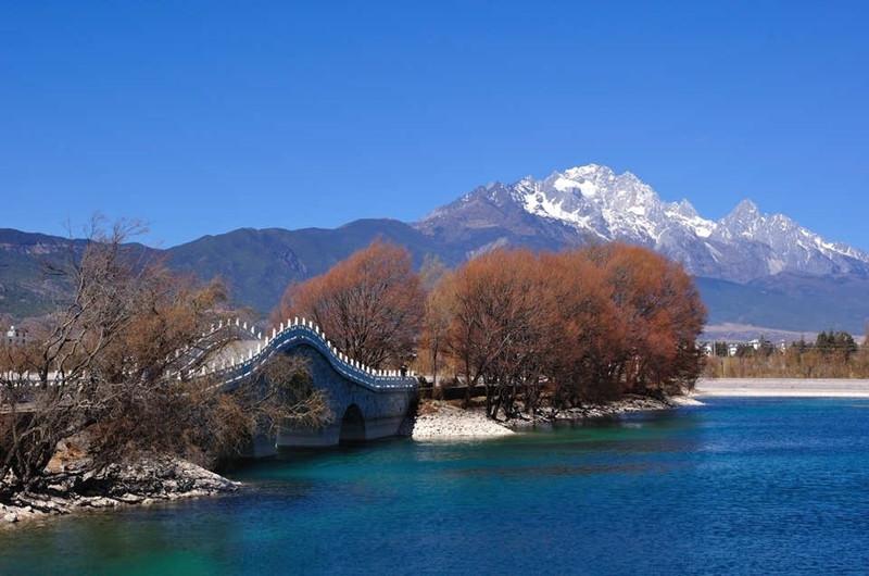Qingxi Reservior in Lijiang