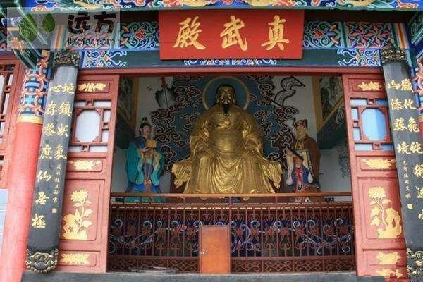 Sanqing Pavillion of Western Hills, Kunming