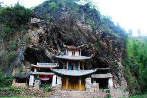 Shidong (Stone Cave) Temple in Nanjian County, Dali