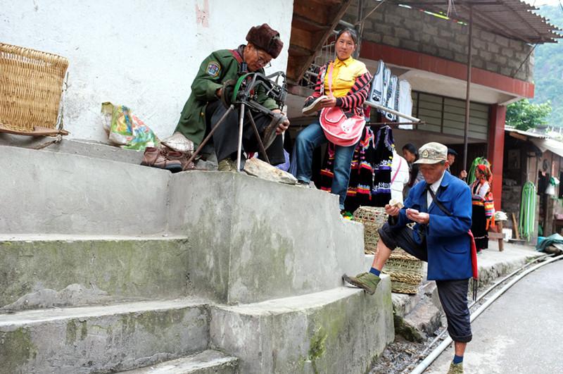 Shiyueliang Town of Fugong County, Nujiang