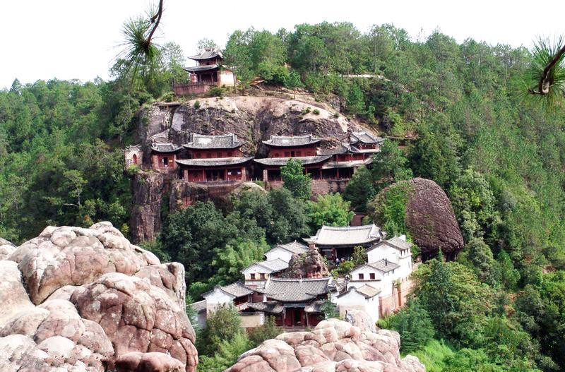 Shibao Mountain in Jianchuan County, Dali