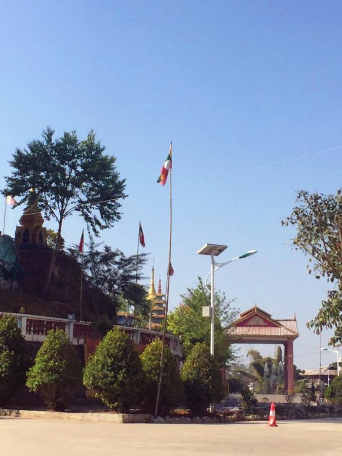 Site of Dai Palace in Jinghong City, XishuangBanna