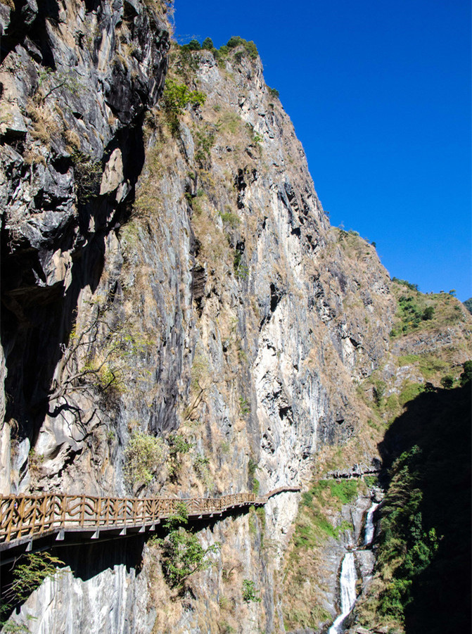 Stone Gate Pass in Yangbi County, Dali